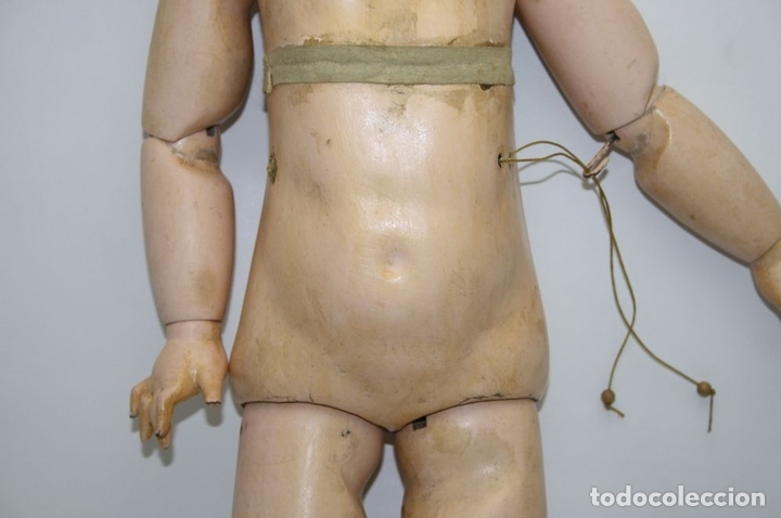Muñecas Porcelana: MU133 MUÑECA JUMEAU. BOCA ABIERTA. CUERPO MADERA. 60 CM. PRINCIPIOS SIGLO XX - Foto 23 - 45149921