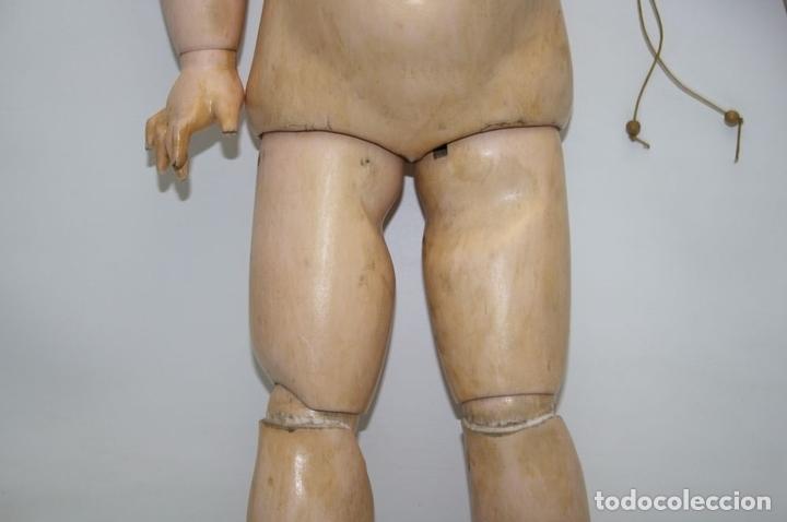 Muñecas Porcelana: MU133 MUÑECA JUMEAU. BOCA ABIERTA. CUERPO MADERA. 60 CM. PRINCIPIOS SIGLO XX - Foto 24 - 45149921