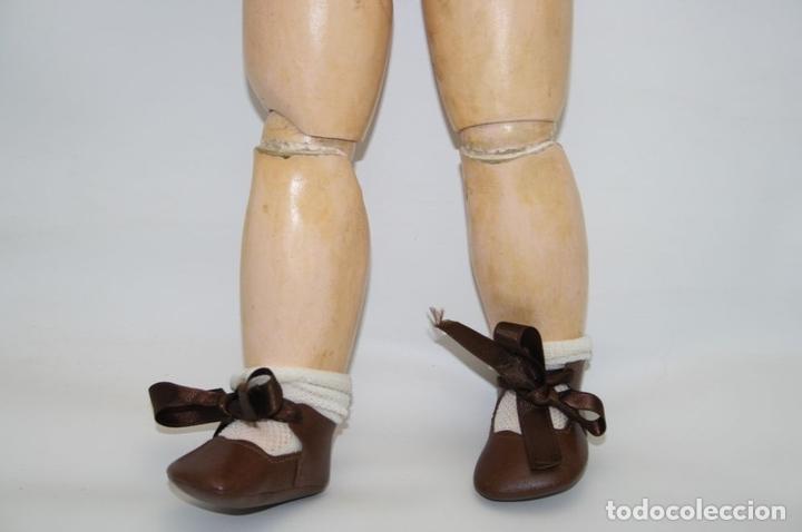 Muñecas Porcelana: MU133 MUÑECA JUMEAU. BOCA ABIERTA. CUERPO MADERA. 60 CM. PRINCIPIOS SIGLO XX - Foto 25 - 45149921