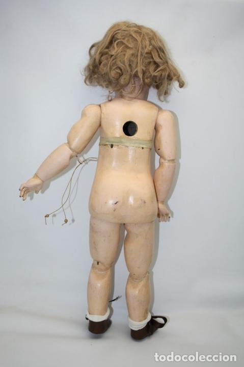 Muñecas Porcelana: MU133 MUÑECA JUMEAU. BOCA ABIERTA. CUERPO MADERA. 60 CM. PRINCIPIOS SIGLO XX - Foto 26 - 45149921