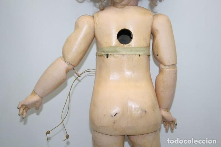 Muñecas Porcelana: MU133 MUÑECA JUMEAU. BOCA ABIERTA. CUERPO MADERA. 60 CM. PRINCIPIOS SIGLO XX - Foto 27 - 45149921