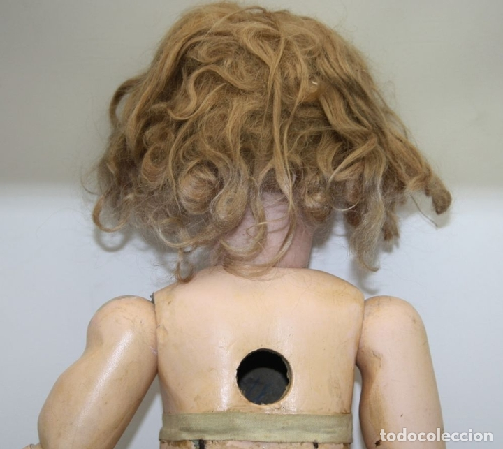 Muñecas Porcelana: MU133 MUÑECA JUMEAU. BOCA ABIERTA. CUERPO MADERA. 60 CM. PRINCIPIOS SIGLO XX - Foto 28 - 45149921