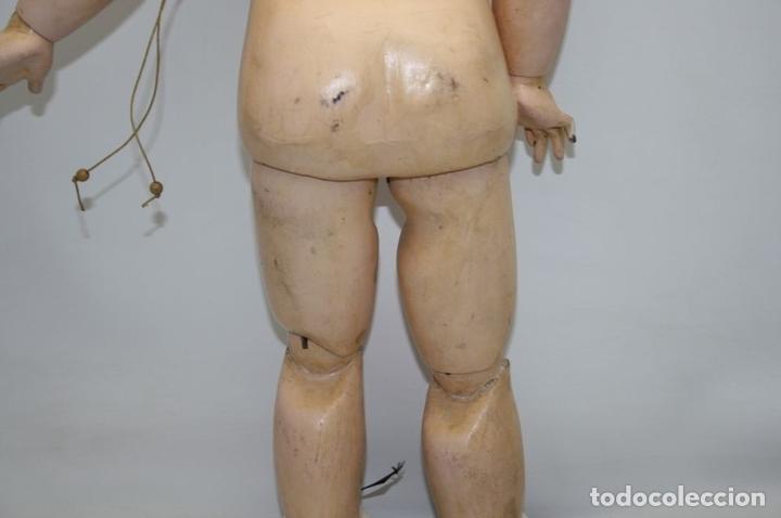Muñecas Porcelana: MU133 MUÑECA JUMEAU. BOCA ABIERTA. CUERPO MADERA. 60 CM. PRINCIPIOS SIGLO XX - Foto 30 - 45149921