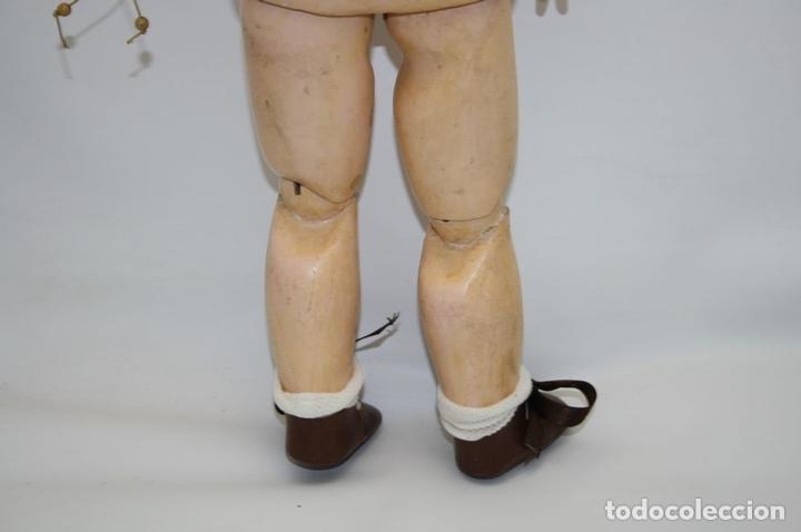 Muñecas Porcelana: MU133 MUÑECA JUMEAU. BOCA ABIERTA. CUERPO MADERA. 60 CM. PRINCIPIOS SIGLO XX - Foto 31 - 45149921