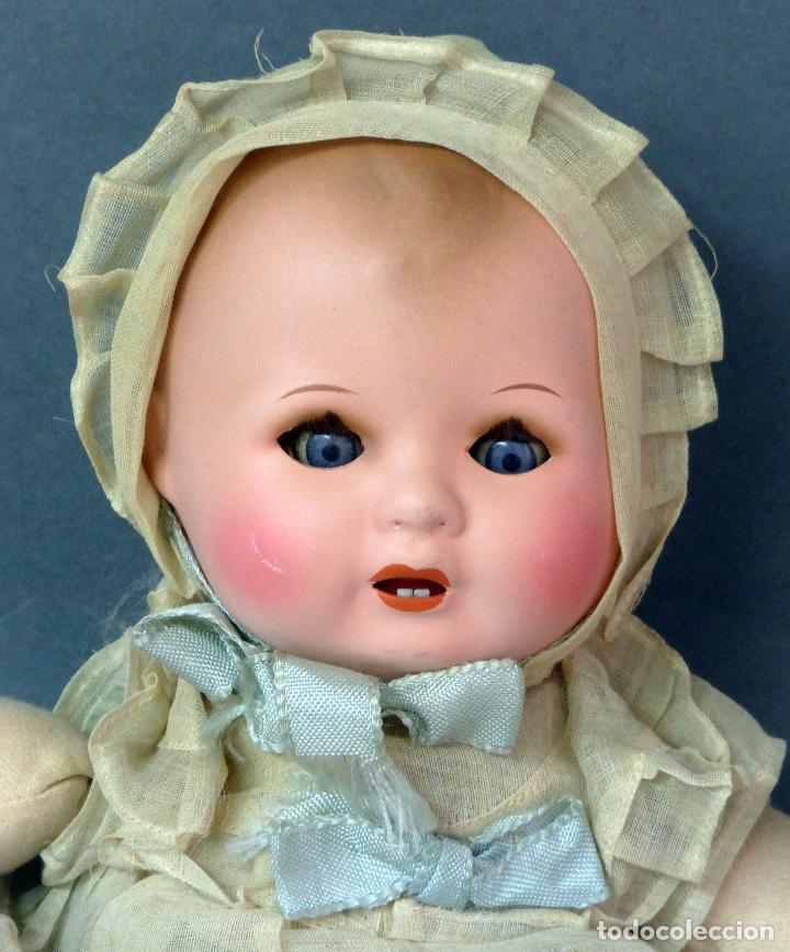 Muñecas Porcelana: Bebé francés Poupée Jumeau París cabeza porcelana cuerpo trapo nuevo con etiqueta años 30 36 cm - Foto 2 - 67296281