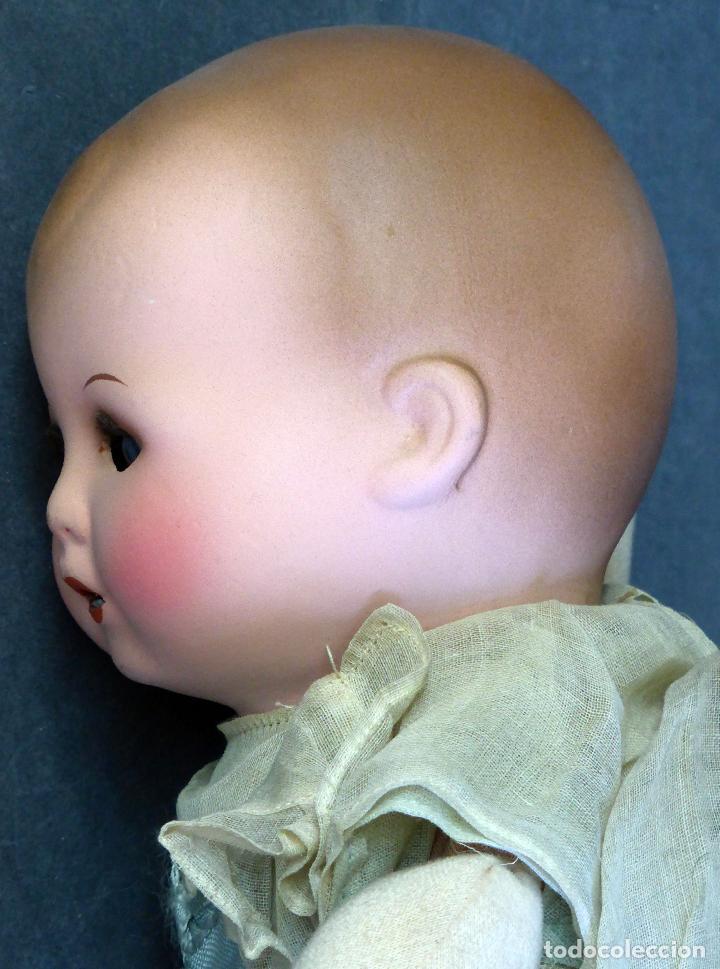 Muñecas Porcelana: Bebé francés Poupée Jumeau París cabeza porcelana cuerpo trapo nuevo con etiqueta años 30 36 cm - Foto 6 - 67296281