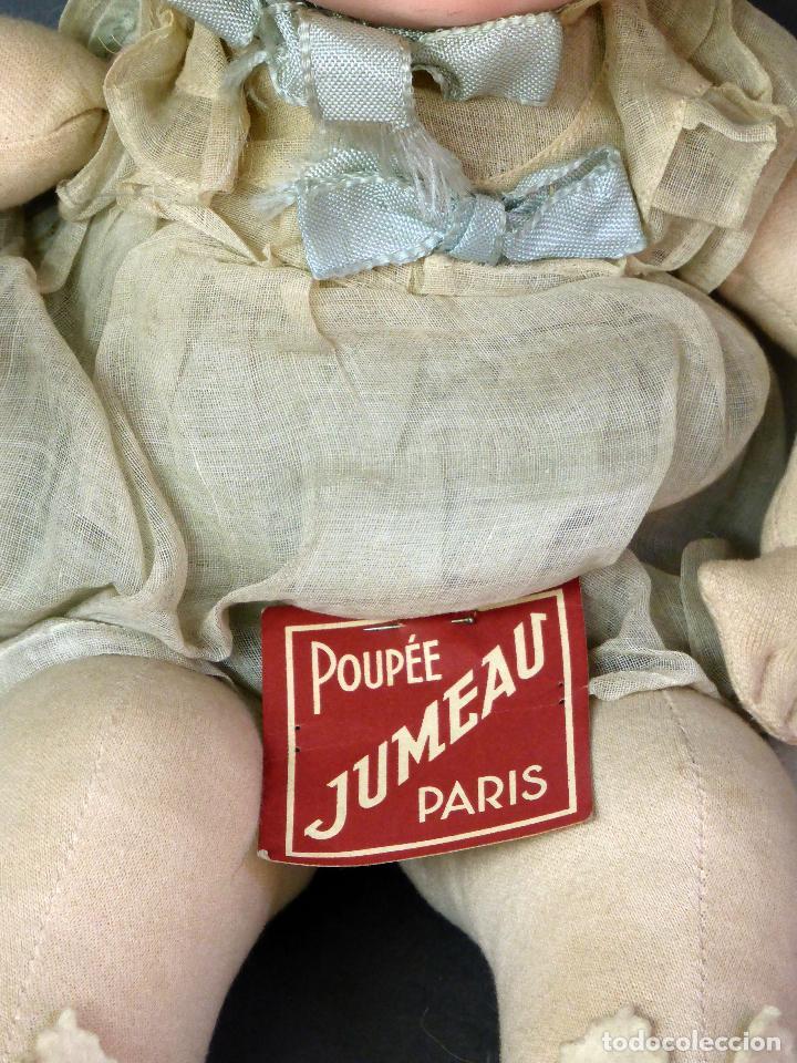 Muñecas Porcelana: Bebé francés Poupée Jumeau París cabeza porcelana cuerpo trapo nuevo con etiqueta años 30 36 cm - Foto 8 - 67296281