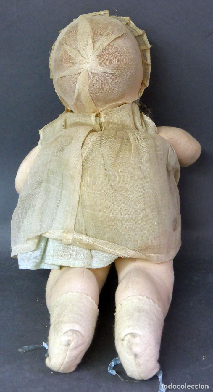 Muñecas Porcelana: Bebé francés Poupée Jumeau París cabeza porcelana cuerpo trapo nuevo con etiqueta años 30 36 cm - Foto 9 - 67296281