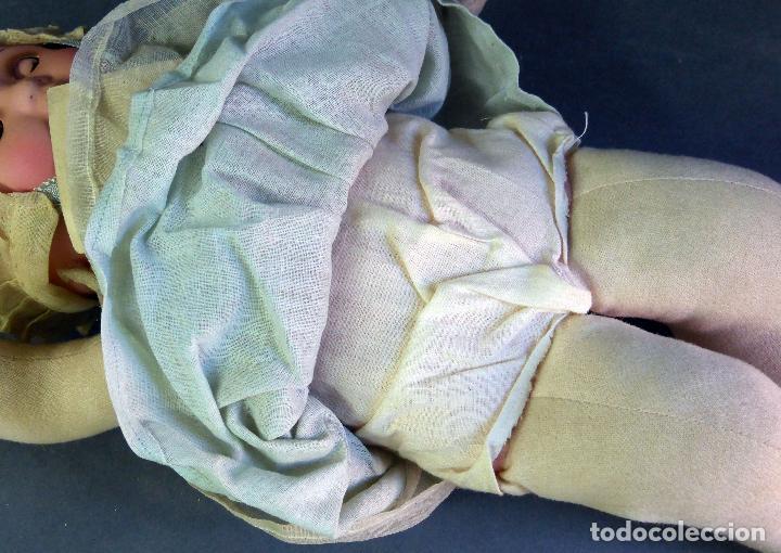 Muñecas Porcelana: Bebé francés Poupée Jumeau París cabeza porcelana cuerpo trapo nuevo con etiqueta años 30 36 cm - Foto 10 - 67296281