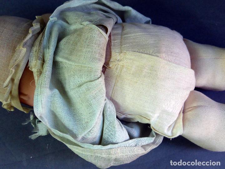 Muñecas Porcelana: Bebé francés Poupée Jumeau París cabeza porcelana cuerpo trapo nuevo con etiqueta años 30 36 cm - Foto 11 - 67296281