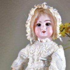Muñecas Porcelana: MUÑECA DE PORCELANA FRANCESA MARCADA 'DEP' 2. Lote 67529433