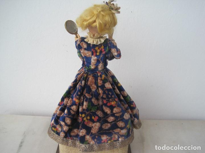 Muñecas Porcelana: AUTÓMATA JUMEAU UNISFRANCE, LA MUÑECA 35 CM. CON LA CAJA DE MÚSICA 46 CM. - Foto 4 - 68466885