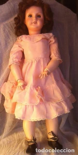 Muñecas Porcelana: Preciosa muñeca UNIS FRANCE 301 71 149. L.R.T. años 20 Mirar fotos - Foto 3 - 68991617