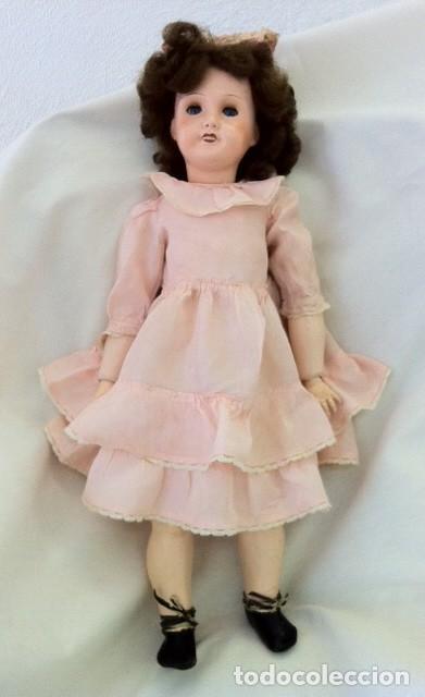 Muñecas Porcelana: Preciosa muñeca UNIS FRANCE 301 71 149. L.R.T. años 20 Mirar fotos - Foto 11 - 68991617