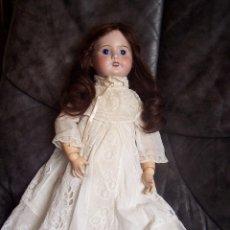 Muñecas Porcelana: MUÑECA FRANCESA. S F B J. CO. PARÍS. 1910 DE LA CASA JUMEAU. ALTURA: 49 CM.. Lote 76023939