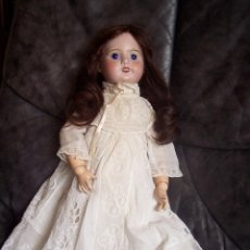Muñecas Porcelana: MUÑECA FRANCESA. S F B J. CO. PARÍS. 1910 DE LA CASA JOUMEAO. ALTURA: 49 CM.. Lote 76023939