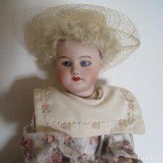 Muñecas Porcelana: MUÑECA MUY ESPECIAL BOCA CERRADA S.F.B.J. PARIS. 30 CM.. Lote 78105397
