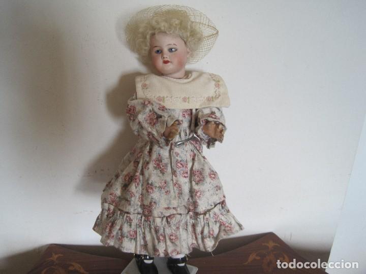Muñecas Porcelana: MUÑECA MUY ESPECIAL BOCA CERRADA S.F.B.J. PARIS. 30 CM. - Foto 2 - 78105397