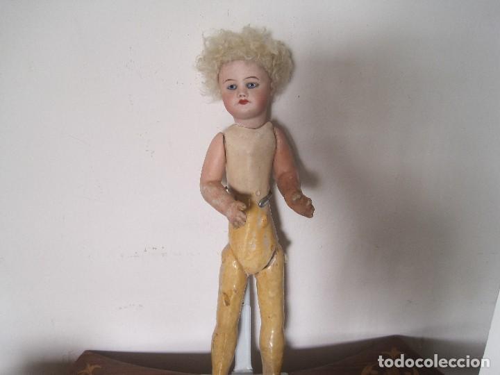 Muñecas Porcelana: MUÑECA MUY ESPECIAL BOCA CERRADA S.F.B.J. PARIS. 30 CM. - Foto 3 - 78105397