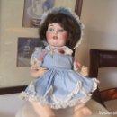 Muñecas Porcelana: MUÑECA DE CARACTER, DEPOSE TOTO, LIMOGES, BOCA CERRADA/ABIERTA, 32 CM.. Lote 78107257