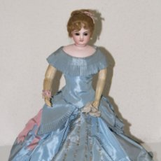 Muñecas Porcelana: MUÑECA JUMEAU PARISIENNE. PORCELANA Y CABRITILLA. FRANCIA. S. XIX. Lote 80959868