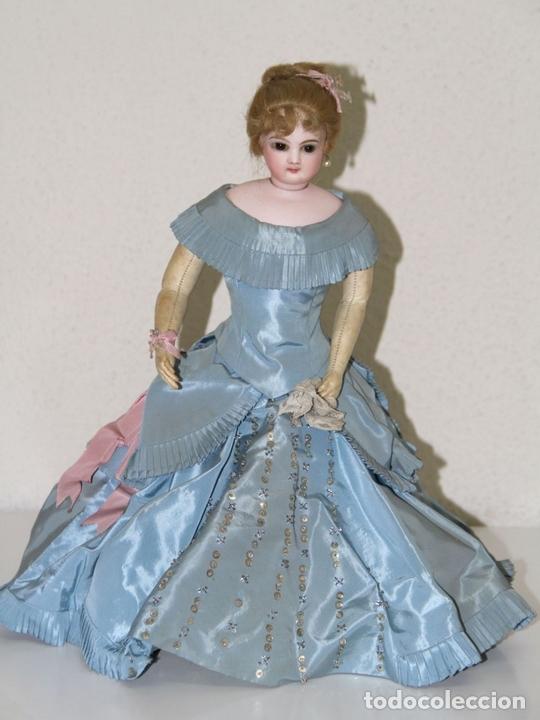 Muñecas Porcelana: MUÑECA JUMEAU PARISIENNE. PORCELANA Y CABRITILLA. FRANCIA. S. XIX - Foto 2 - 80959868