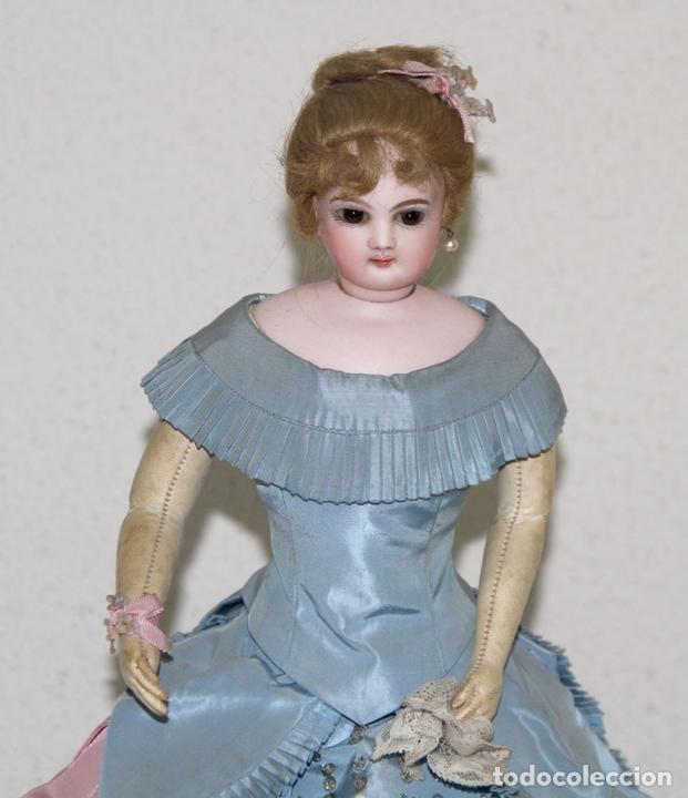 Muñecas Porcelana: MUÑECA JUMEAU PARISIENNE. PORCELANA Y CABRITILLA. FRANCIA. S. XIX - Foto 3 - 80959868