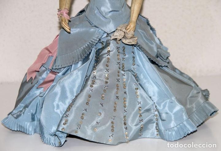 Muñecas Porcelana: MUÑECA JUMEAU PARISIENNE. PORCELANA Y CABRITILLA. FRANCIA. S. XIX - Foto 4 - 80959868
