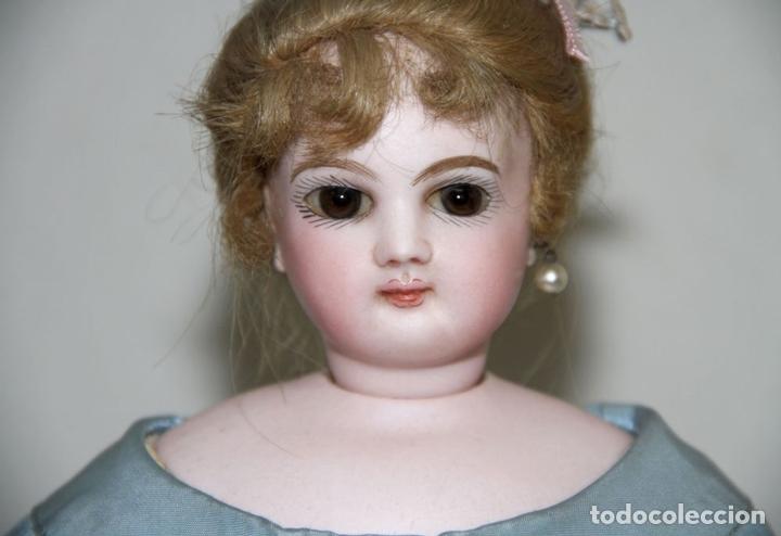 Muñecas Porcelana: MUÑECA JUMEAU PARISIENNE. PORCELANA Y CABRITILLA. FRANCIA. S. XIX - Foto 5 - 80959868