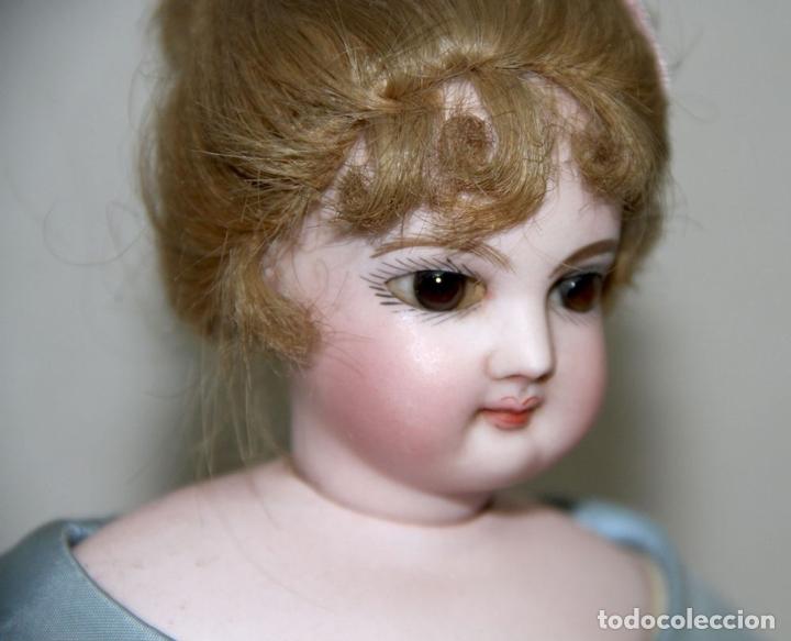 Muñecas Porcelana: MUÑECA JUMEAU PARISIENNE. PORCELANA Y CABRITILLA. FRANCIA. S. XIX - Foto 6 - 80959868