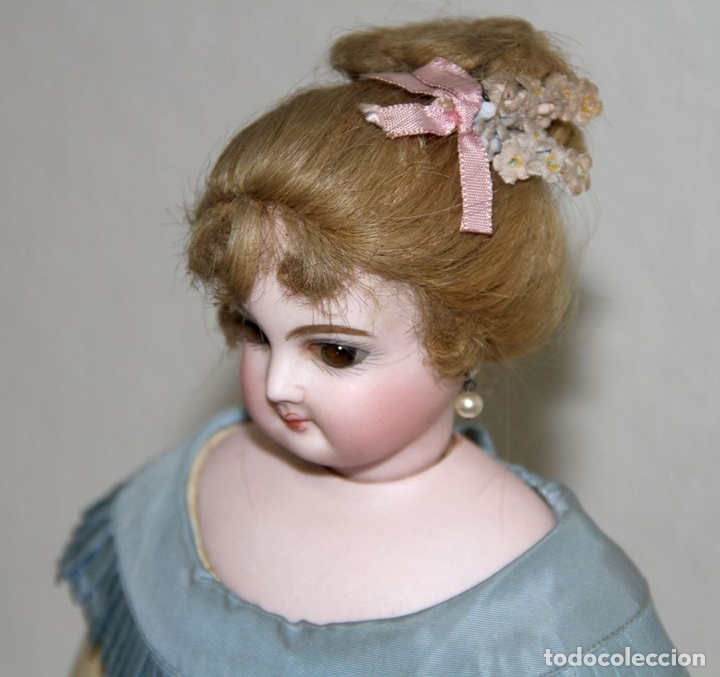 Muñecas Porcelana: MUÑECA JUMEAU PARISIENNE. PORCELANA Y CABRITILLA. FRANCIA. S. XIX - Foto 7 - 80959868