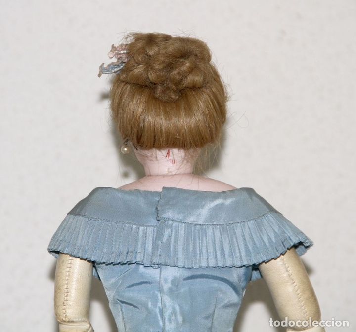 Muñecas Porcelana: MUÑECA JUMEAU PARISIENNE. PORCELANA Y CABRITILLA. FRANCIA. S. XIX - Foto 10 - 80959868