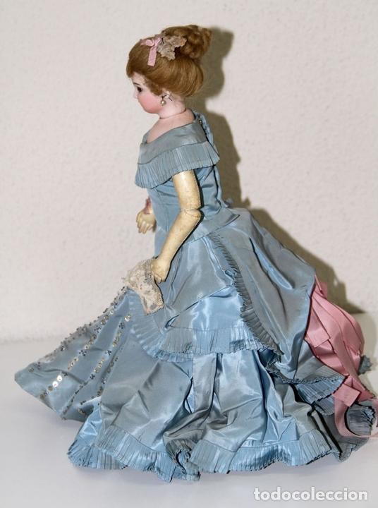 Muñecas Porcelana: MUÑECA JUMEAU PARISIENNE. PORCELANA Y CABRITILLA. FRANCIA. S. XIX - Foto 13 - 80959868