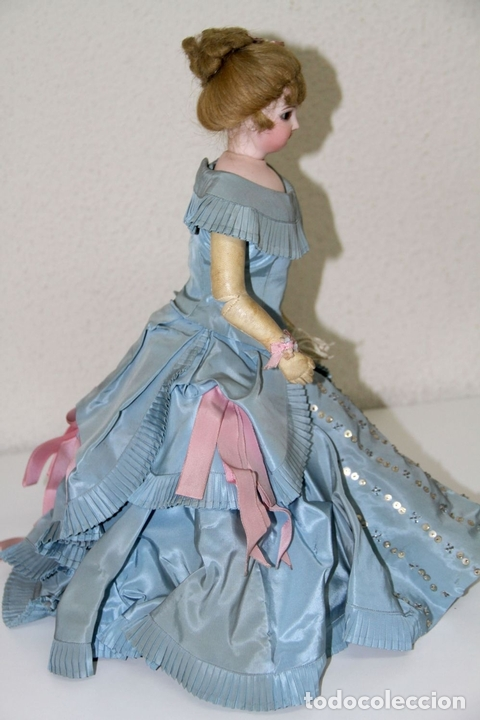 Muñecas Porcelana: MUÑECA JUMEAU PARISIENNE. PORCELANA Y CABRITILLA. FRANCIA. S. XIX - Foto 14 - 80959868