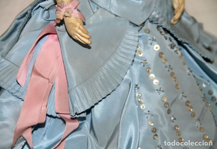 Muñecas Porcelana: MUÑECA JUMEAU PARISIENNE. PORCELANA Y CABRITILLA. FRANCIA. S. XIX - Foto 27 - 80959868
