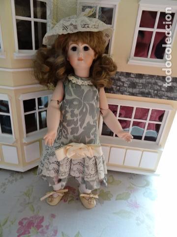 Muñecas Porcelana: PRECIOSA MUÑECA LADY DE PORCELANA JUMEAU - REPRODUCCIÓN - Foto 2 - 83285436