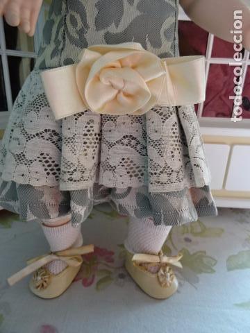 Muñecas Porcelana: PRECIOSA MUÑECA LADY DE PORCELANA JUMEAU - REPRODUCCIÓN - Foto 4 - 83285436