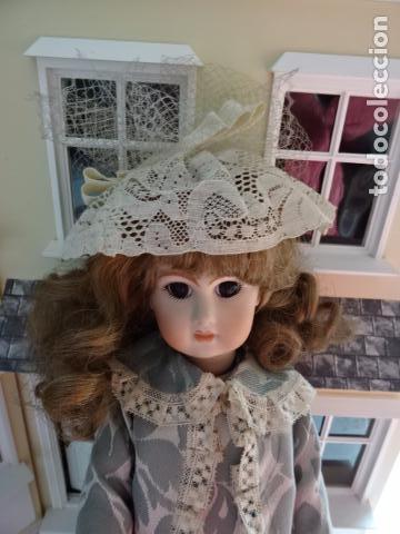 Muñecas Porcelana: PRECIOSA MUÑECA LADY DE PORCELANA JUMEAU - REPRODUCCIÓN - Foto 14 - 83285436