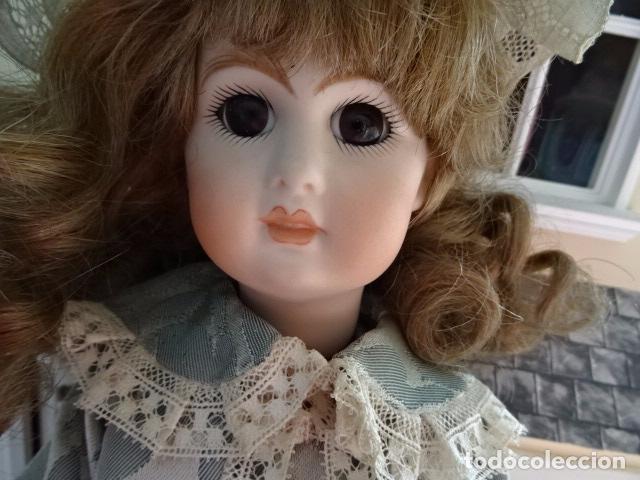 Muñecas Porcelana: PRECIOSA MUÑECA LADY DE PORCELANA JUMEAU - REPRODUCCIÓN - Foto 15 - 83285436