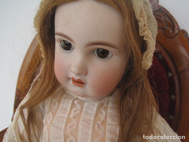 Muñecas Porcelana: MUÑECA FRANCESA DE PORCELANA JUMEAU, DIPLOME D'HONNEUR. 60 CM. - Foto 13 - 54926369