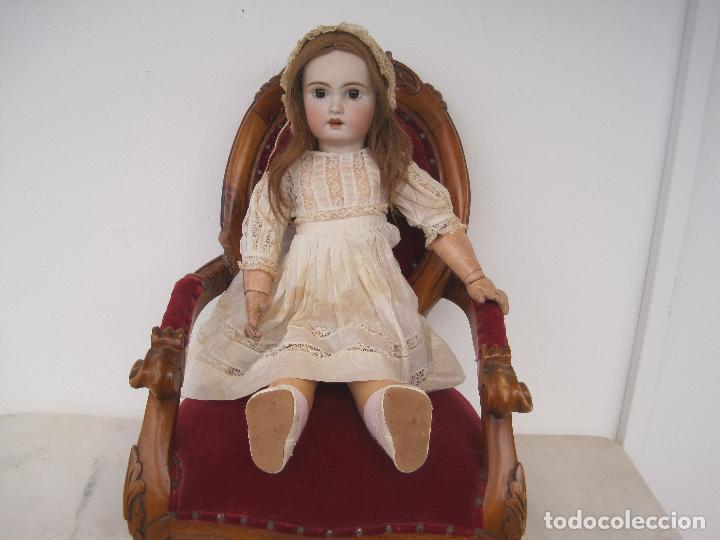 Muñecas Porcelana: MUÑECA FRANCESA DE PORCELANA JUMEAU, DIPLOME D'HONNEUR. 60 CM. - Foto 14 - 54926369