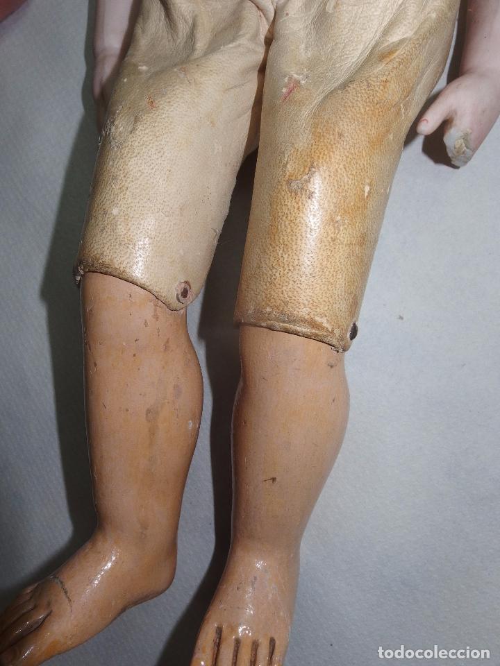 Muñecas Porcelana: MUÑECA,PORCELANA,CABEZA LEHMANN-CUERPO BRU,FRANCE,FINALES S.XIX - Foto 3 - 85243756
