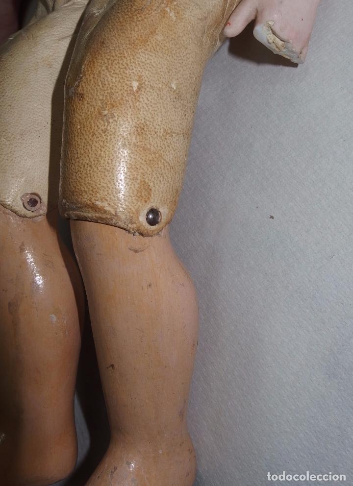Muñecas Porcelana: MUÑECA,PORCELANA,CABEZA LEHMANN-CUERPO BRU,FRANCE,FINALES S.XIX - Foto 4 - 85243756