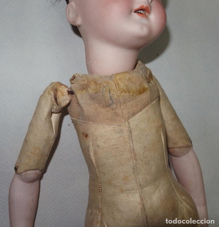 Muñecas Porcelana: MUÑECA,PORCELANA,CABEZA LEHMANN-CUERPO BRU,FRANCE,FINALES S.XIX - Foto 8 - 85243756