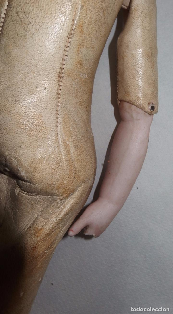 Muñecas Porcelana: MUÑECA,PORCELANA,CABEZA LEHMANN-CUERPO BRU,FRANCE,FINALES S.XIX - Foto 9 - 85243756
