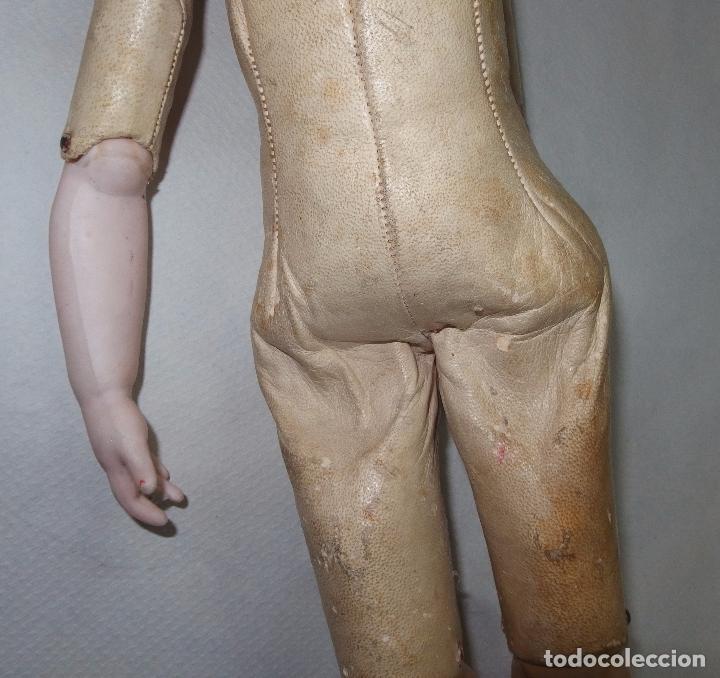 Muñecas Porcelana: MUÑECA,PORCELANA,CABEZA LEHMANN-CUERPO BRU,FRANCE,FINALES S.XIX - Foto 14 - 85243756
