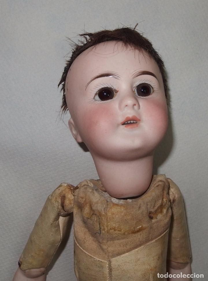 Muñecas Porcelana: MUÑECA,PORCELANA,CABEZA LEHMANN-CUERPO BRU,FRANCE,FINALES S.XIX - Foto 15 - 85243756