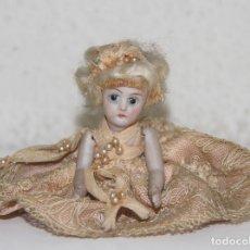 Muñecas Porcelana: MUÑECA MIGNONETTE. PORCELANA. ROPA ORIGINAL. POSIBLEMENTE FRANCIA. FINALES S. XIX. Lote 86350120