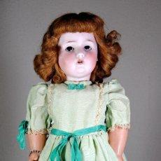 Muñecas Porcelana: MUÑECA DE PORCELANA FRANCESA MARCADA EN ANCORA 'LC'. Lote 87303416