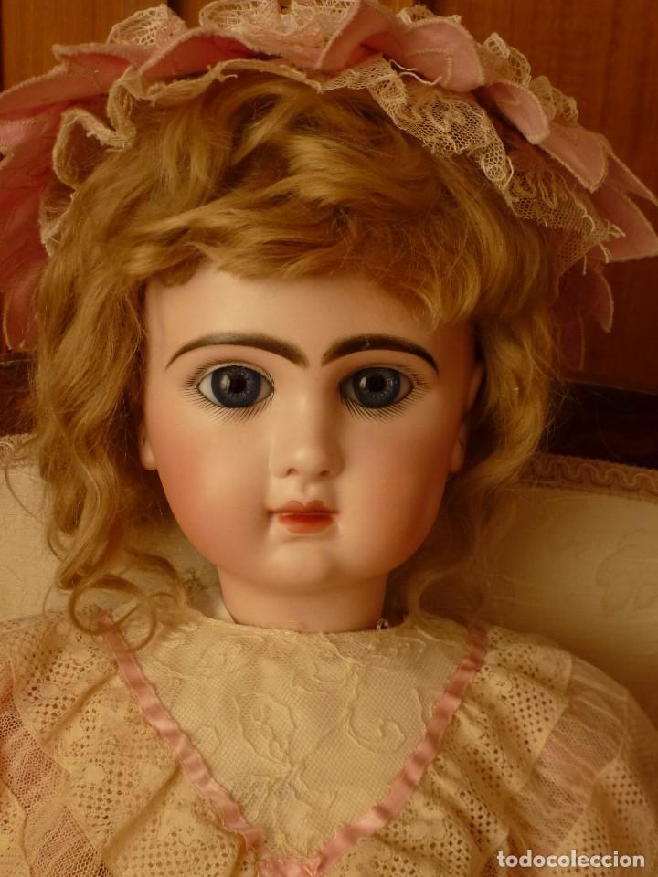 Muñecas Porcelana: IMPECABLE BEBE DEPOSE JUMEAU, 64 CMS. PAGO APLAZADO A CONVENIR. - Foto 3 - 89608712